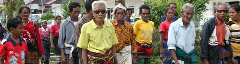 Sumbanese locals